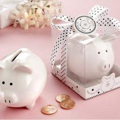 Alcancia Piggy Bank, ideales como bolitos!