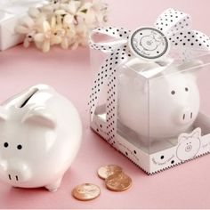 Alcancia Piggy Bank, ideales como bolitos!