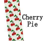 Cherry Pie Cherries Beaded Peyote Cuff Bracelet Pattern