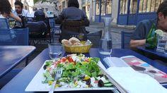 A nice cafe in the heart of  Marais quarter