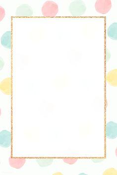 Cute Pastel Wallpaper, Flower Background Wallpaper, Framed Wallpaper, Text Background, Flower Backgrounds, Iphone Wallpaper, Powerpoint Background Design, Background Design Vector, Instagram Frame Template