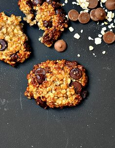 a2 Banana, Oatmeal & Chocolate Chips Cookies