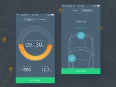 Hi, Dribbblers!  Many of you know and use such a service as carsharing. And this is not a surprise, because everybody aware of its advantages.  From cost savings and ease of use the service, to a s...