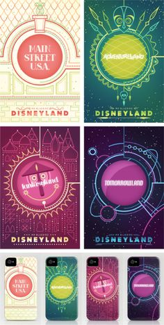 Disneyland Series by Mario Graciotti  Available as Prints and Iphone Cases