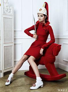 Antonina Vasylchenko for Vogue Russia December 2012