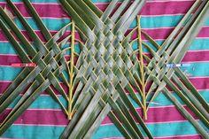 coconut palm weaving tutorial | RosaLindenTree