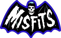 C&D Visionary Misfits Bat Fiend Sticker Misfits Tattoo, Misfits Band, Danzig Misfits, Grateful Dead Music, Band Posters, Music Posters, Heavy Metal Music, Halloween Art, Horror Art