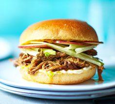 Slow cooker pulled pork recipe | BBC Good Food