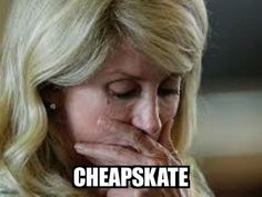 Texas Democrat Wendy Davis Donated $515 Of Her $235k Income To Charity, But Wants To Redistribute Your Earnings. Democrats are so generous with your money, but most certainly not with their money. For every rich Republican, there are two rich Democrats (HL)