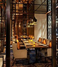 Crown Metropol  Maze Private Dining  Interiors  Pinterest Prepossessing Restaurants With A Private Dining Room Design Decoration