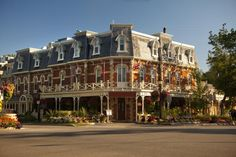 Niagara-on-the-Lake is known for Victorian architecture, shops and restaurants. Most of all, it is famous for its annual George Bernard Shaw festival.
