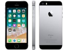 "iPhone SE Apple 32GB Cinza Espacial 4G Tela 4"" - Retina Câm. 12MP iOS 11 Proc. Chip A9 Touch ID"
