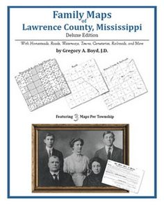 Family+Maps+of+Lawrence+County,+Mississippi+(Paperback)