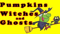 Halloween Songs for Children - Pumpkins, Witches and Ghosts - Kids Song by The Learning Station
