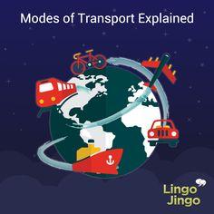 A fun lesson for #ELL students to explain modes of transport!  Start here: http://lingojingo.com/Course/Medios-de-transporte/706/0