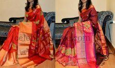 Eye Catching Tremendous Silk Sarees | Saree Blouse Patterns
