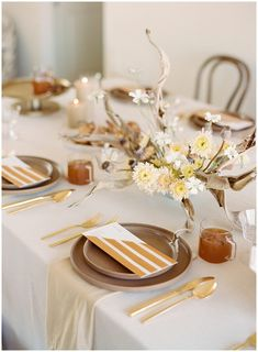 La Tavola Fine Linen Rental: Luke Chalk with Velvet Bone Napkins | Photography: The Ganeys, Planning & Design: Prim Event Studio, Paper Goods: Bourne Paper Co, Florals: Amanda Vidmar Design, Styling and Food: This Expansive Life, Rentals: Standard Party Rentals, Candles: Creative Candles | Thanksgiving Tablescape