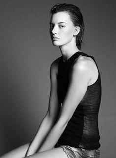 Amanda Murphy (Portrait).  march 2013.   Thomas Whiteside - Photographer.   Kate Lanphear - Fashion Editor/Stylist.   Jordan M - Hair Stylist.   James Boehmer - Makeup Artist.   Amanda Murphy - Model.