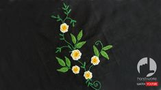 Embroidery designs by hand- Hopefully you will find my video hand embroidery tutorials just as easy to follow.  You can do a lot with it! It's an easy embroidery stitch - it looks more advanced than it actually is!
