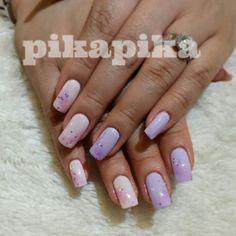 """""""pink n purple #nail #nails #fashion #nailart #cute #art #girl #naildesign #love #beautiful #unhas #nailpolish #polish #beauty #sparkles #gliter #nailswag…"""""""