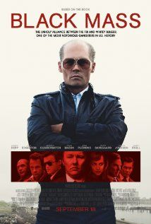 Black Mass from Movie Posters Johnny Depp plays real-life Boston mobster Whitey Bulger alongside an ensemble cast that includes Joel Edgerton, Dakota Johnson, Benedict Cumberbatch and more. Joel Edgerton, 2015 Movies, Hd Movies, Movies To Watch, Movies Online, Latest Movies, Film Black, Movie Black, Kevin Bacon