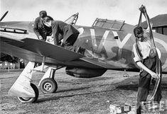85sqn Hurricane 1940