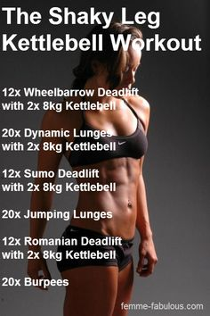 Do you want strong arms, strong chest, toned legs, sexy abs, & toned shoulders... Use Kettlebells for a diversified workout. Click link & picture Now to get a bigger & strong body Today.  I need to do this workout.... Always looking for more ways to look fit, feel good, be healthy.   #putinthework #lovelife #healthylifetyle