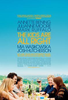 The Kids Are All Right (2010) DeLisa Cholodenko Estados Unidos. Comedia Dramática Con: Annette Bening Julianne Moore Mark Ruffalo Mia Wasikowska Josh Hutcherson