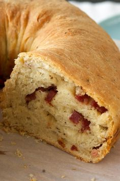 IL CASATIELLO NAPOLETANO (meat and cheese stuffed bread)