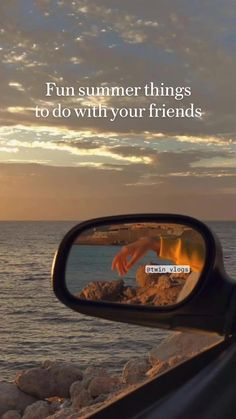 Fun summer things  to do with your friends