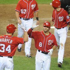 Mlb Baseball T-shirt Washington Nationals Bryce Harper 34 Shades Of Victory Baseball & Softball