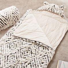 Fur Sleeping Bag, #pbteen