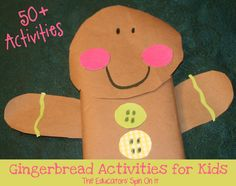 The Educators' Spin On It: 50+ Gingerbread Activities for Kids