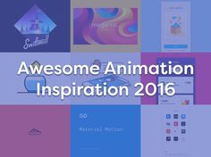 Some of the best animation inspiration of 2016, from Google Material to personal projects. Pie anyone? by Jorge R Canedo Estrada The New Material Design Motion Guidelines by John Schlemmer Facebook Reactions by Seth Eckert Pull to Refresh – Multiple Cards by Saptarshi Prakash Sponge by Gal Shir Onboarding Animated by Anastasiia Andriichuk My Projects... View Article