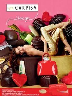 Carpisa San Valentino 2015 a Febbraio in Regalo i Cioccolatini Caffarel Carpisa San Valentino 2015