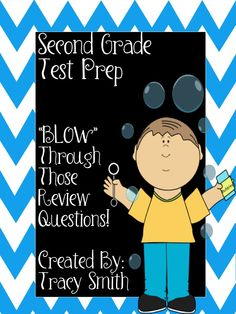 2nd Grade Math Test Prep - great for SAT10