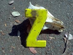 Vintage+Letter+Z+Metal++Yellow+Sign+by+DecrepitudeAplenty+on+Etsy,+$12.00