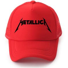 15953bf4e1a CLIMATE Metallica Metal Rock Band Summer Cool Mesh Caps Music Rock Fans  Cool Summer Baseball Net Trucker Caps Hat