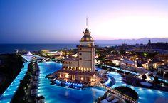 Piscine du Mardan Palace, Antalya, Turquie