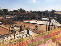 DBM Architects | Site progress being made on CRC (Christian Revival Church) on Witkoppen, Johannesburg #dbm #architects #architecture #design #religious #institution #Johannesburg #SouthAfrica Place Of Worship, Wallpaper Quotes, South Africa, Architects, Architecture Design, Christian, Places, Architecture Layout, Building Homes