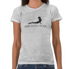 Mind Body Soul Yoga Tshirt