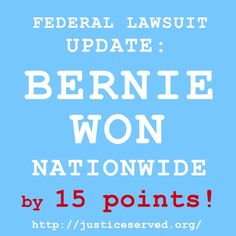 Update from the Attorney, Cliff Arnebeck's Paralegal - They now have the evidence needed to prove not only election fraud but they can also prove that actually WON the primary by 15 points NATIONWIDE! Left Wing, Right Wing, Bernie Sanders For President, Paralegal, Political Issues, Insurgent, Deceit, How To Become