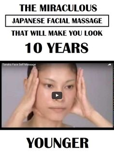 You want a pretty face and younger look? Just try this Japanese Tanaka massage, and you will look younger in a very short period of time. If you want the optimum effects of this...