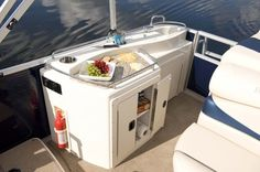 galley for pontoon boat - Google Search