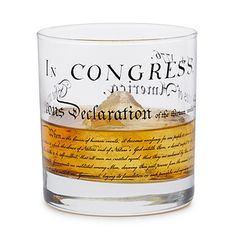 Look what I found at UncommonGoods: Declaration of Independence Glass for $13.00