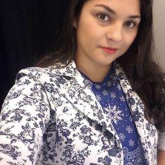 E la fui eu atrás da nova coleção da @voudemarisa estou totalmente apaixonada por essa blusinha azul e esse Blazer Linnnndooooo .  #marisa #voudemarisa #demulherparamulher #demulherpramulher #coleção #precolecao  #BlogAnaAraujo #anaaraujo #blogueirassp #blogueira #youtuber