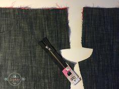 Hvordan syer jeg en gylp i et par bukser syvejledning