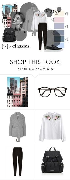 """Classic force"" by marowa-v on Polyvore featuring мода, Moma, Acne Studios, Jaeger, Burberry и GUESS"