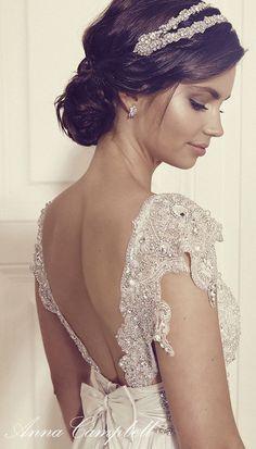 Anna Campbell Gossamer 2016 Bridal Collection | blush and champagne wedding | champagne wedding |