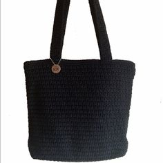 The Sak Black Crochet Shoulder Bag One interior zippered pocket. approximately 11 inches long 11 inches tall. No trades. Discount with Bundle. The Sak Bags Shoulder Bags